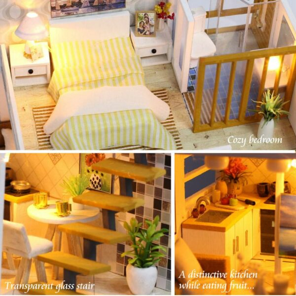 Loft Apartment DIY Miniature House