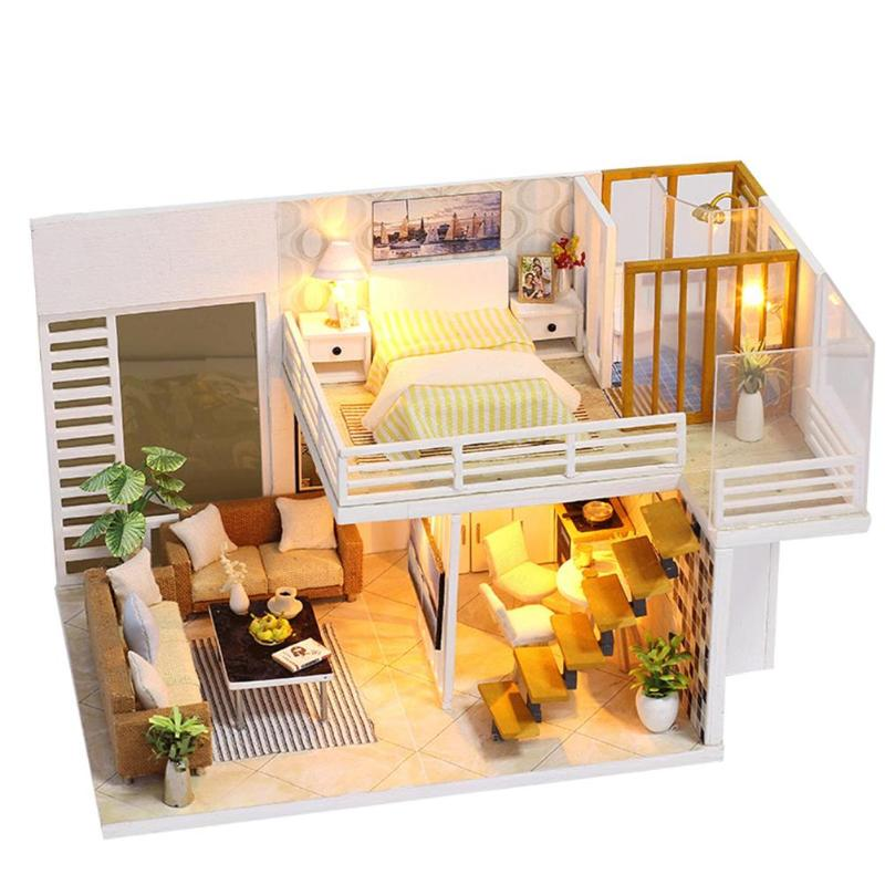 Give you Happiness DIY Miniature House