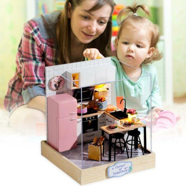 Mini Bedroom Set DIY Miniature Room Kit