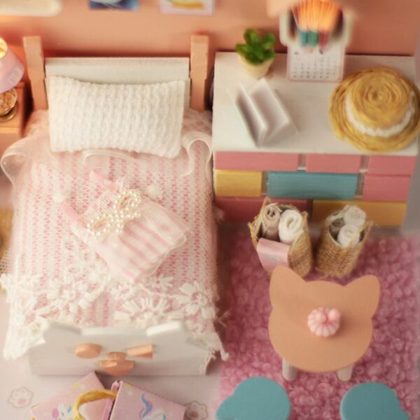 Mia's Cat House Theme DIY Miniature House