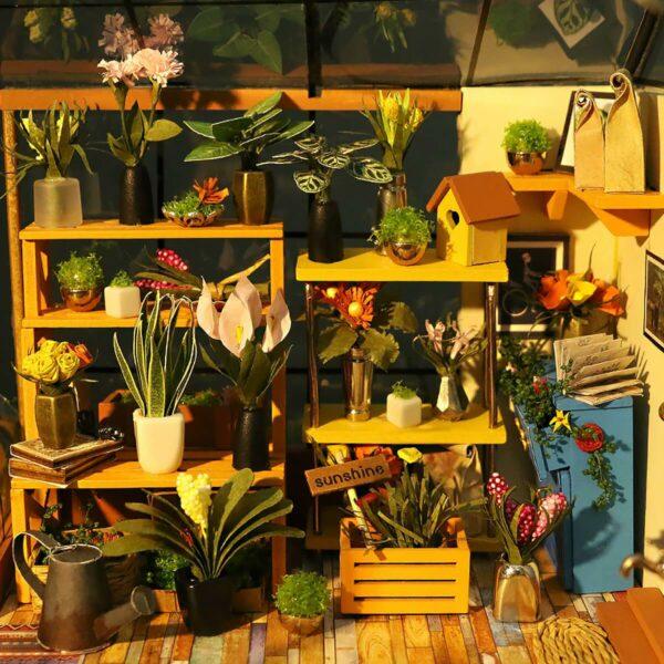 Cathy's Flower House Robotime DIY House Kit