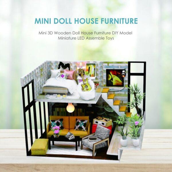 Cynthia's Holiday DIY Miniature Room Set
