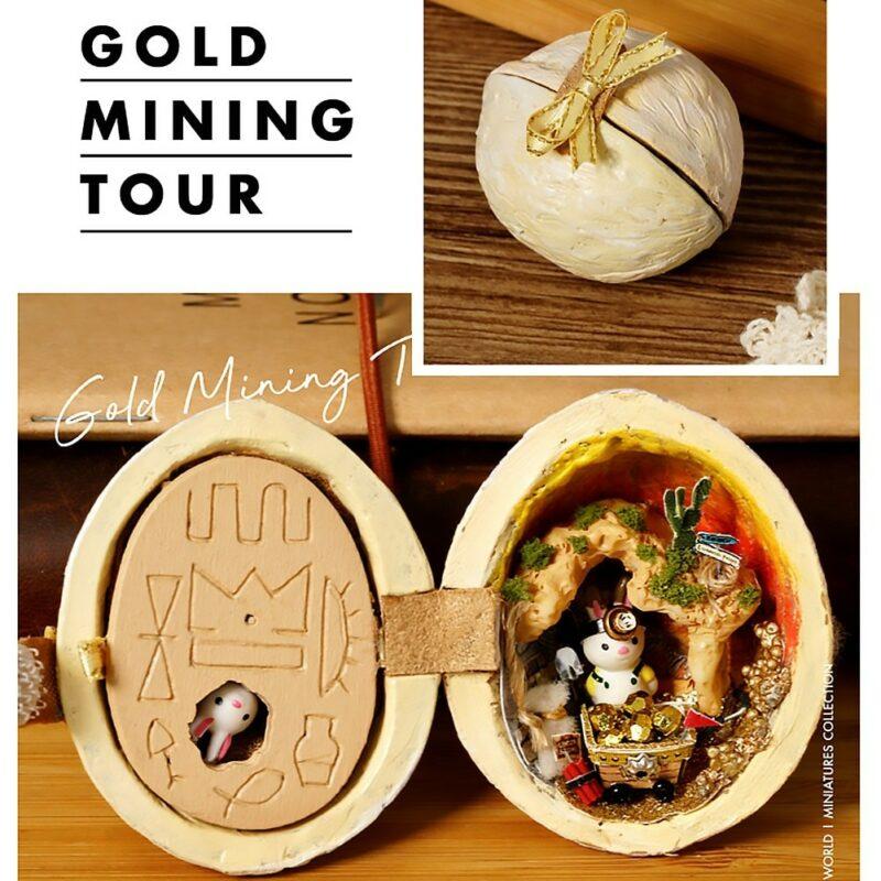 Walnut Shell DIY Gold Mining Tour