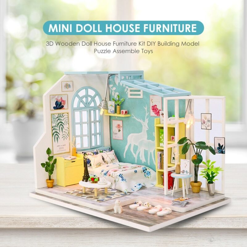 Spilay DIY Miniature Dollhouse Kit
