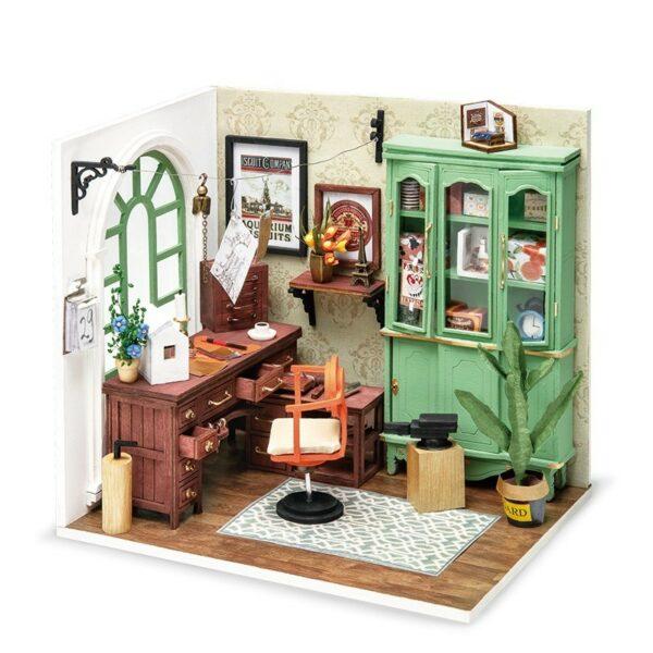 1 Robotime Rolife DIY Wooden Dollhouse Miniature DGM07 Jimmy s Studio