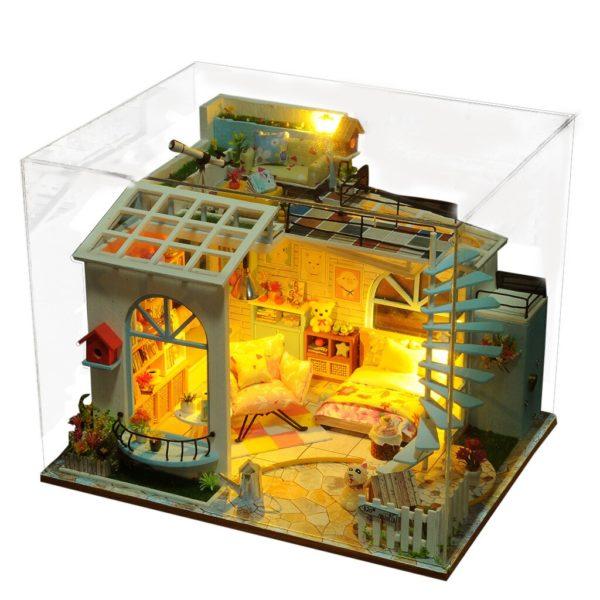 1bf4f322a7b0a7c189d332223983e9ce 600x600Moonlight Rooftop DIY Dollhouse