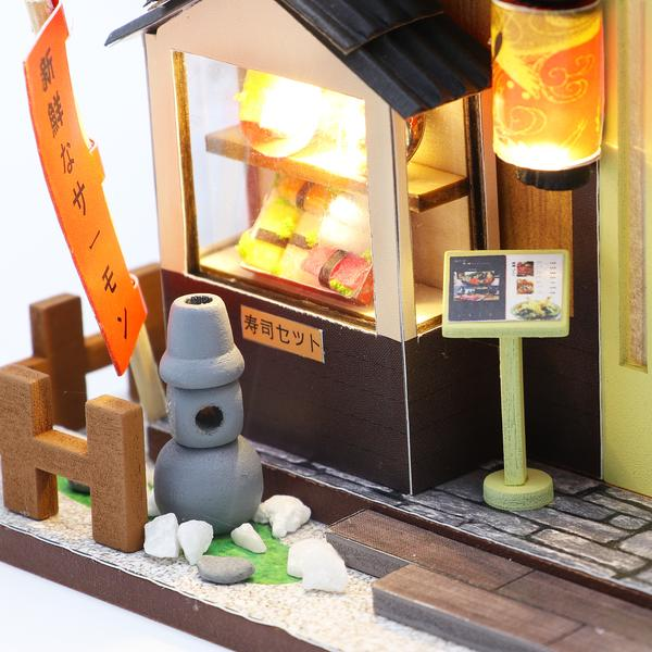 2a64091e5033455a177067dc96aa4c92Gibbon Sushi DIY Miniature Dollhouse Kit