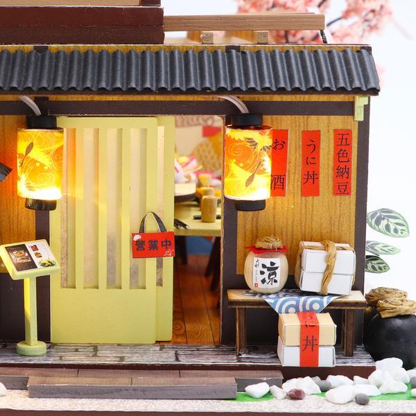 2b596a3865e95f1cf5c4996655c040a2Gibbon Sushi DIY Miniature Dollhouse Kit