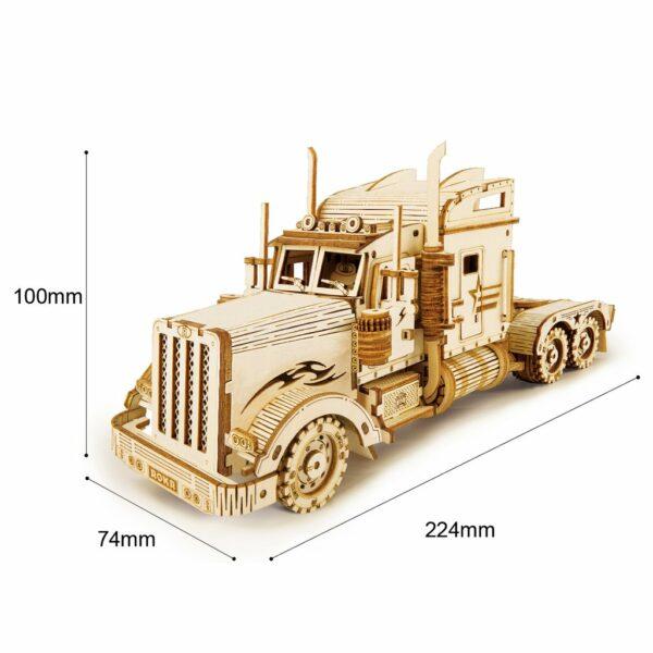 3 6 1024x1024Robotime MC502 Heavy Truck DIY Scale Model