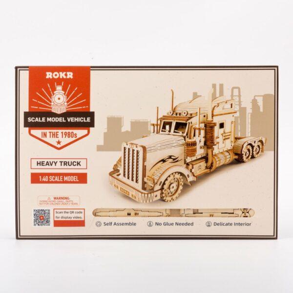 3 7 1024x1024Robotime MC502 Heavy Truck DIY Scale Model