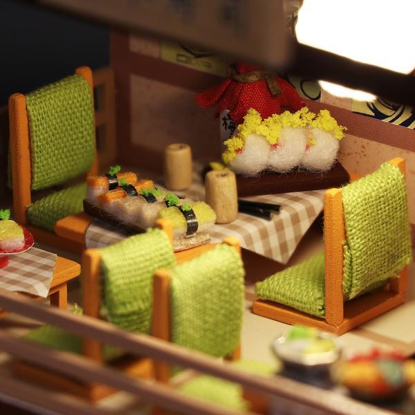 3a2e8027e98066a24638b5416c250fd3Gibbon Sushi DIY Miniature Dollhouse Kit