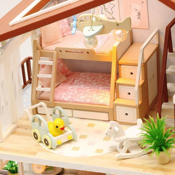 5004b2017f75955f51f993ab51bf215fLove You All The Way DIY Miniature Dollhouse Kit