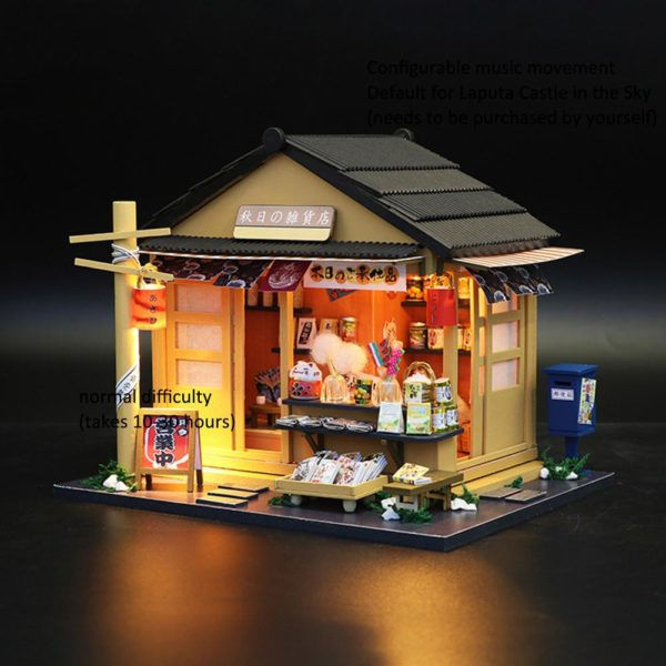 5b0cbe1510d673e1f66acbd8162a3014 600x600Japanese Grocery Store DIY Dollhouse