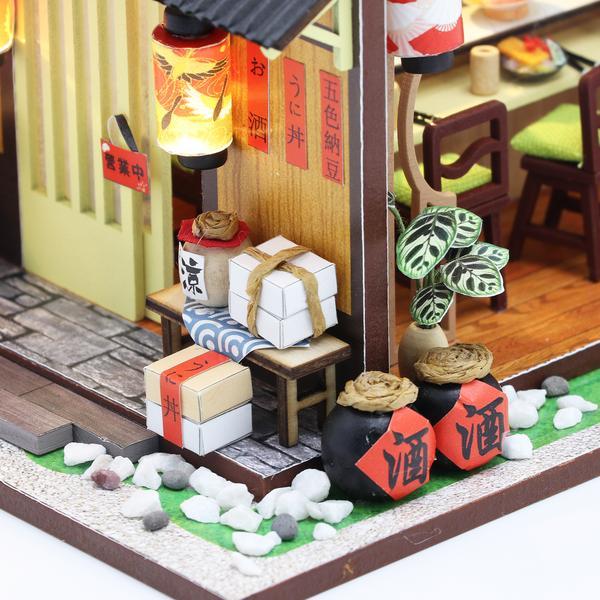 5d8b9f95a39bf15b37e43037801c7ad8Gibbon Sushi DIY Miniature Dollhouse Kit