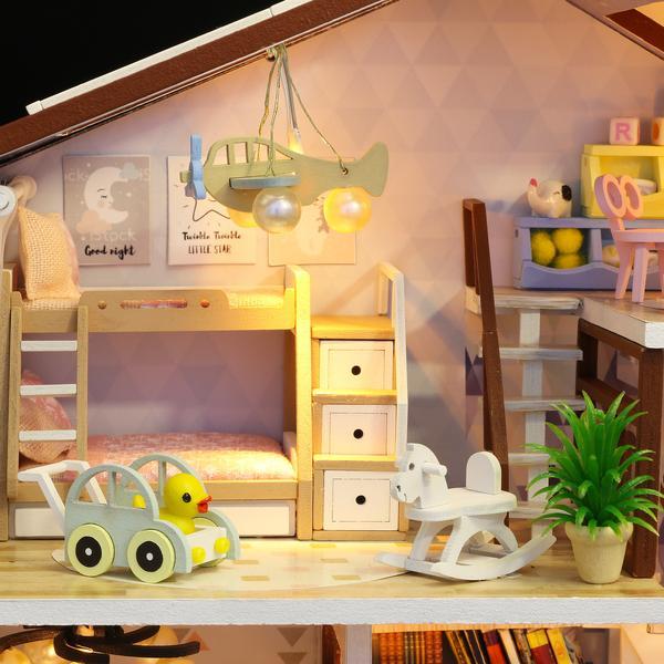 82f46f9da7374536504027ee4b1e1de5Love You All The Way DIY Miniature Dollhouse Kit