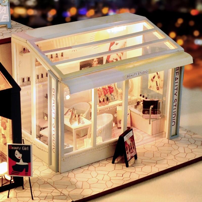 Beauty Shop DIY Miniature Store Kit Beauty shopfe323f3be4a44a71b8cdac5667e9e066N