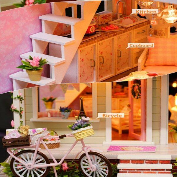 Bicycle Angel DIY Miniature HouseTB11wDjXovrK1RjSspcq6zzSXXaW