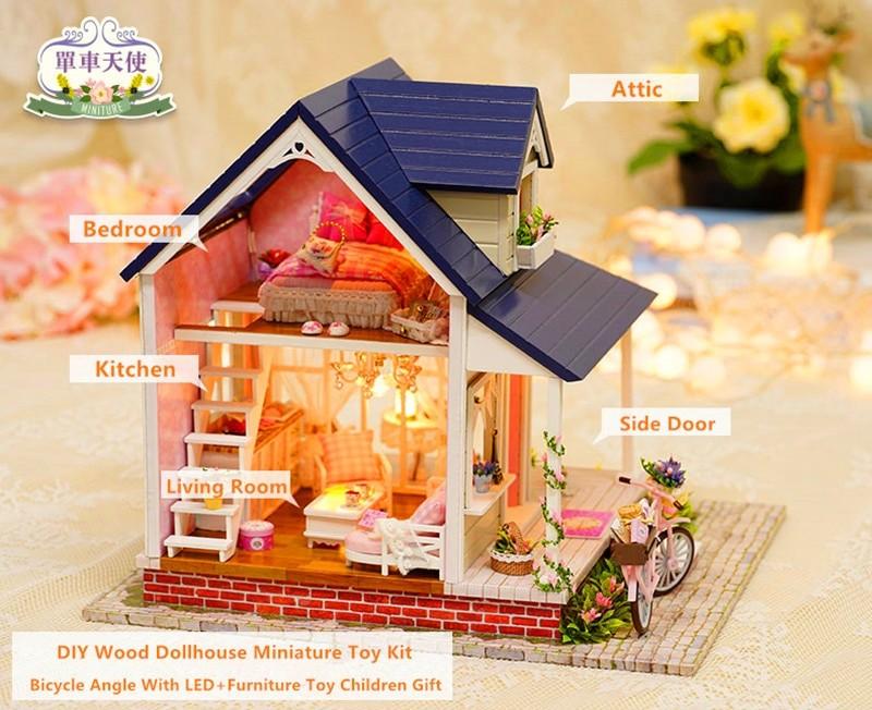 Bicycle Angel DIY Miniature HouseTB1556jXiYrK1Rjy0Fdq6ACvVXaA