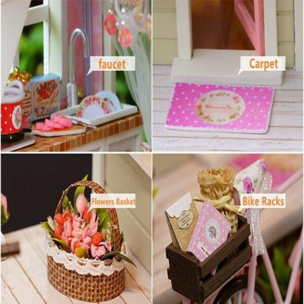Bicycle Angel DIY Miniature HouseTB1kcfkXdfvK1RjSspfq6zzXFXal