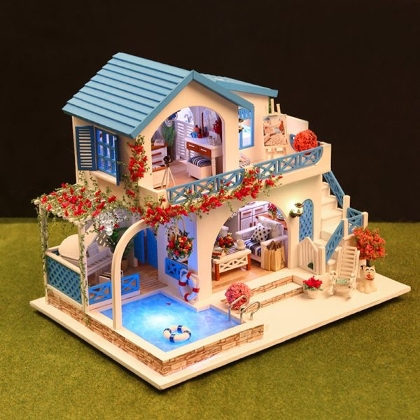 Blue and White Town DIY DollhouseTB10lBmbsfrK1RkSmLyq6xGApXav 600x600 1