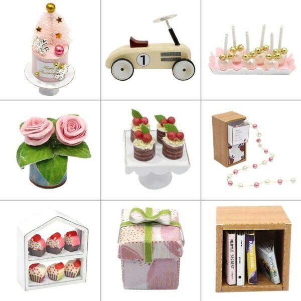 Camp Party DIY Miniature Room Kit QT10Af5648a88b0f04432a700f5aa0474184cV