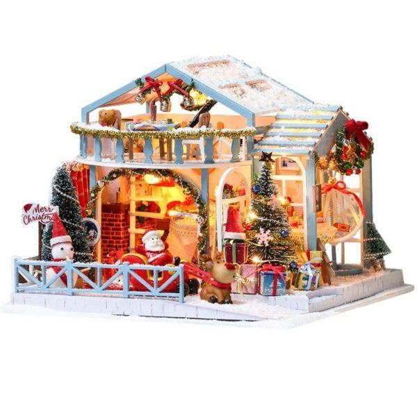 Christmas Snowy Night DIY Miniature House Kite399282ab76f4ff39294c1375b87150fi