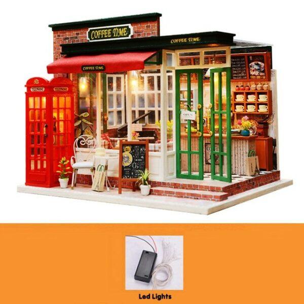 Coffee Time DIY Miniature Kit8f0495cde6c0441abb209807aa46651cCoffee Time DIY Miniature Kit