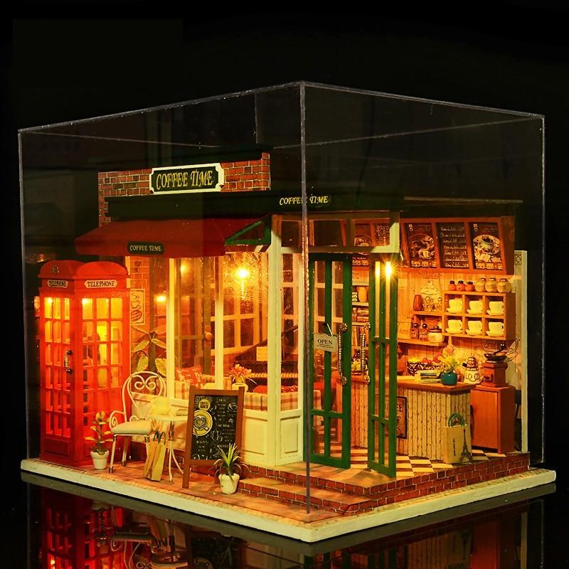 Coffee Time DIY Miniature KitTB1dBj0lgKTBuNkSne1q6yJoXXa0