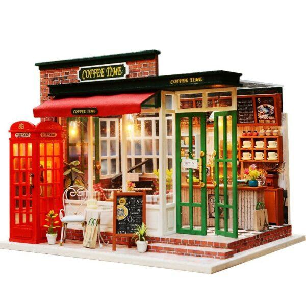 Coffee Time DIY Miniature KitTB1eqdotKuSBuNjy1Xcq6AYjFXaD
