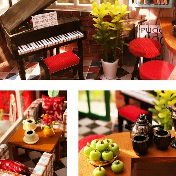 Coffee Time DIY Miniature KitTB1kclrtKuSBuNjy1Xcq6AYjFXaG