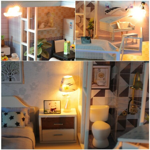 Comfortable Life DIY Miniature Loft Kit L31Aab591cc63daf4dfa80897c1e883bc85eW