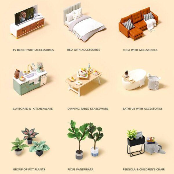 Comfortable Life DIY Miniature Loft Kit L31Ab8b508cca6504f668bf4e44076349ee2n