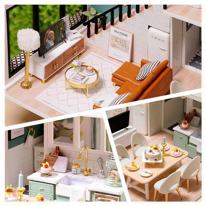 Comfortable Life DIY Miniature Loft Kit L31Abe7531a477cc41018b45995ef3d77506U
