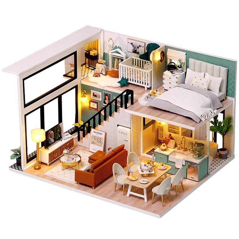 Comfortable Life DIY Miniature Loft Kit L31Af4a71689a19b4eeb83ff9cea2b109263D