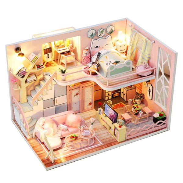From Lily With Love DIY Miniature Dollhouse Kit195c513ff78445ea96848a5667129a7bz 600x600 1