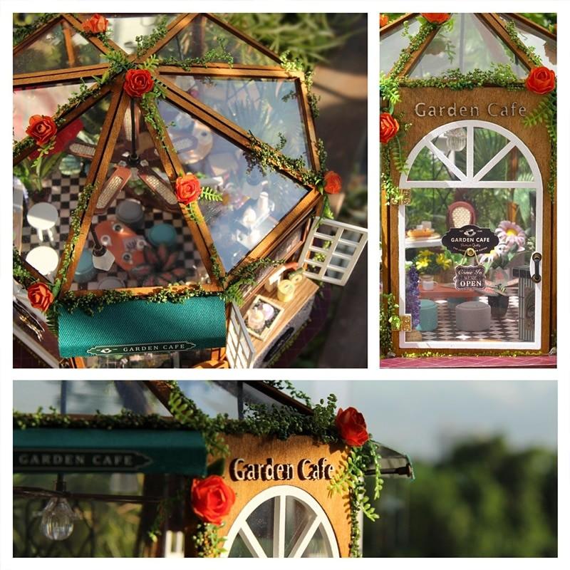 Garden Cafe DIY Miniature Kit GD01A208067cf8caf43b487b8651a29504de1B