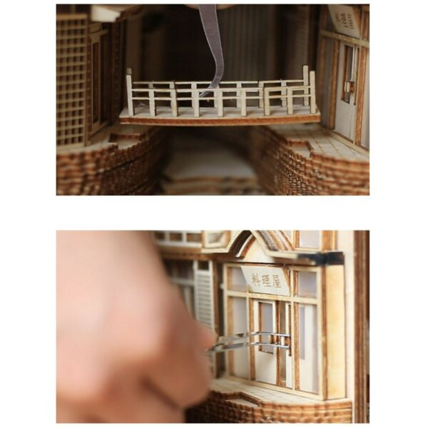 Ginzan Onsen Miniature Booknookb7111dade1274ea89865ba24c443ff68i