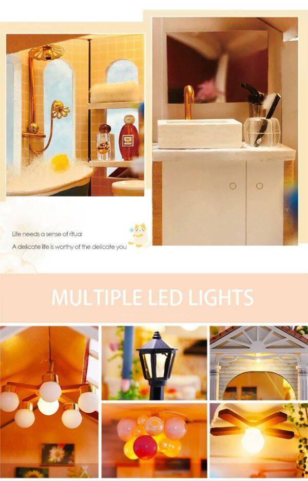 Glaze Time DIY Miniature Villa Kit L2001A60b14f66571d4d8abdf137a7d5664518t
