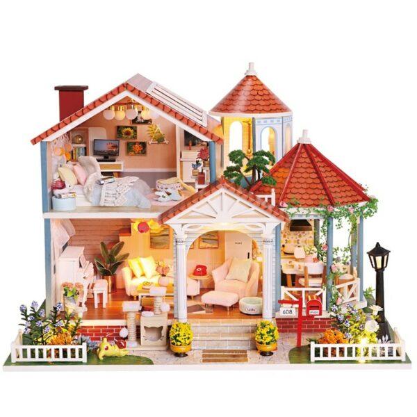 Glaze Time DIY Miniature Villa Kit L2001Abd648b5f69e64368976732324b84aeeb3