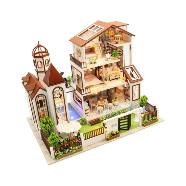 H0d4927f38cd1455f8ec7720ad7824ee0n 600x600Love You All The Way DIY Miniature Dollhouse Kit