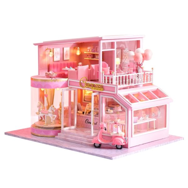 H0dcaef2c25674bde859e09757f5d76b0h 600x600Childhood Memory DIY Miniature Dollhouse Kit