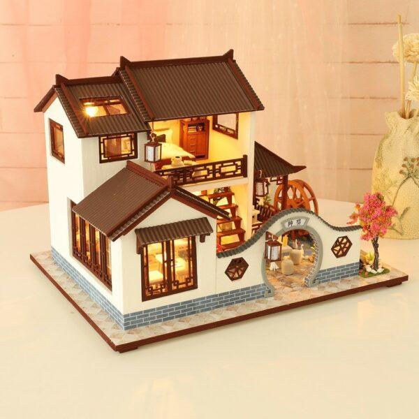H2e9418a947c947bab92ba07555c8f891QLand of idyllic Beauty DIY Dollhouse