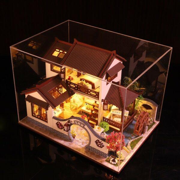 H485f9e86973d4d69a5f55dc07d95cfc4NLand of idyllic Beauty DIY Dollhouse