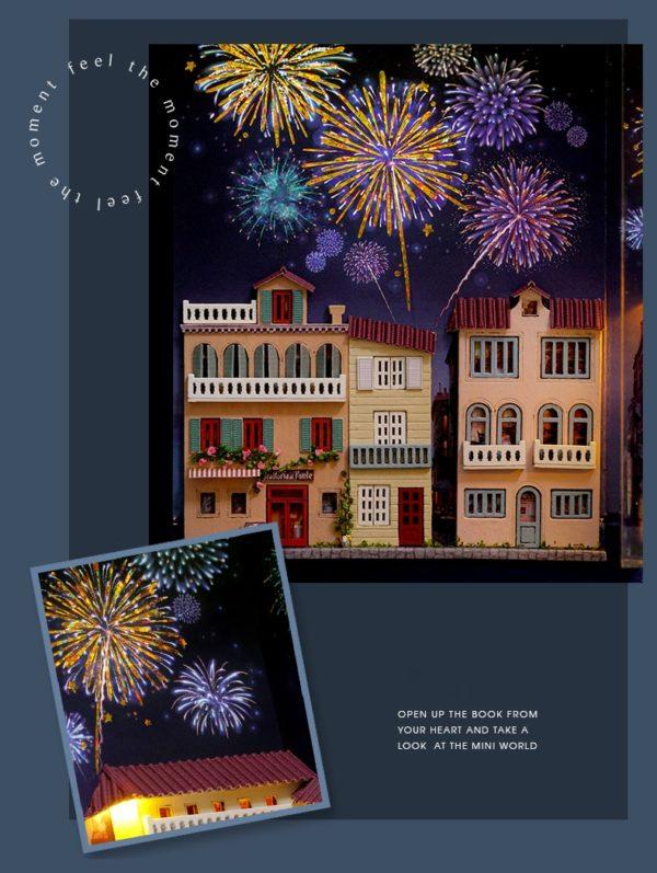 H67602c696e9f467db4c19760ce40b52cY 600x797Journal of Venice Mini Book DIY Dollhouse