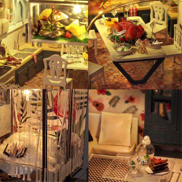 H69d4f2ad581d403b8a236ab02ed268b1RCottage Valencia Coast Villa DIY Dollhouse