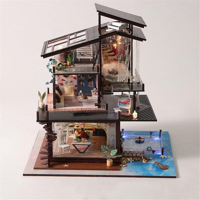 H6ae8bf9aa51b49e9a5aea9d084a0055eyCottage Valencia Coast Villa DIY Dollhouse