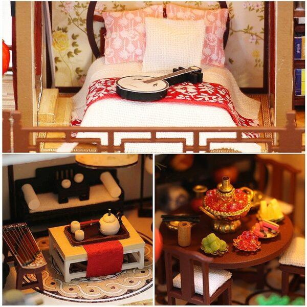 H93e00afb4ce64792b49f897abeba473b0A Splendid Family DIY Dollhouse