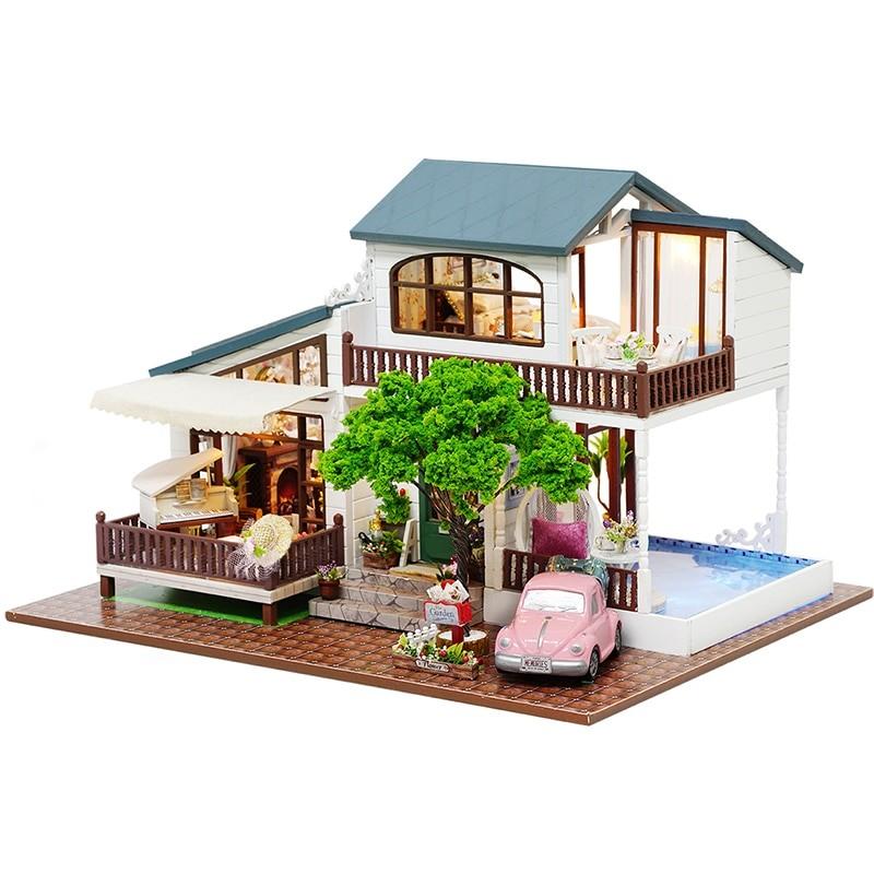 HTB10A1ecpuWBuNjSspnq6x1NVXaOLondon Holiday DIY Miniature Dollhouse