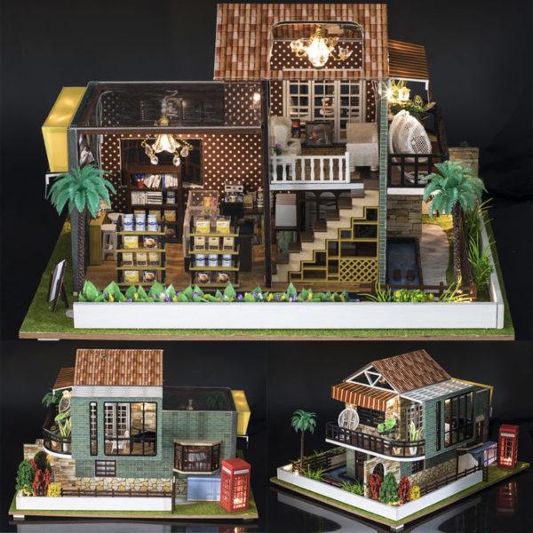 HTB11IdnbtfvK1RjSspoq6zfNpXaM 600x600A Little While DIY Miniature House