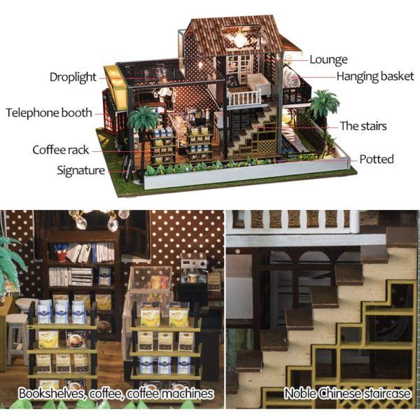 HTB15kBsbsfrK1RjSszcq6xGGFXay 600x600A Little While DIY Miniature House